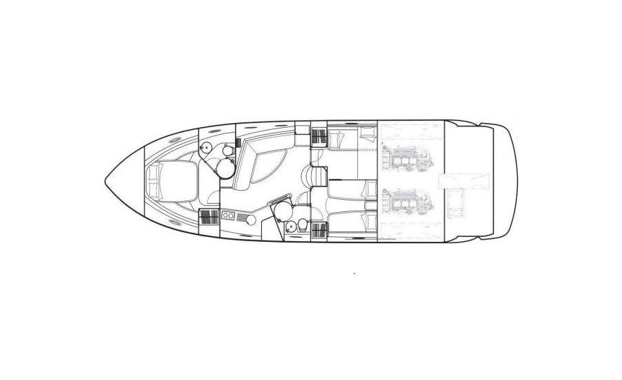 motoryacht sunseeker portofino 53 yachtlayout